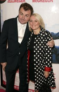 Paul Ross and Guest at the premiere of