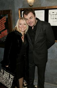 Paul Ross and his Wife at the UK premiere of