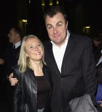 Paul Ross and Guest at the Autore Pre-BAFTA Party.