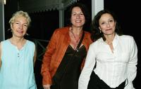 Directors Nadine Monfils, Diane Bertrand and Brigitte Rouan at the cocktail party during the Bangkok International Film Festival.