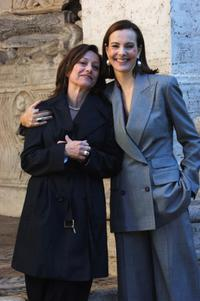 Brigitte Rouan and Carol Bouquet at the photocall of