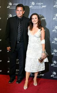 Gia Carides and Anthony LaPaglia at the L'Oreal Paris 2007 AFI Industry Awards.