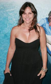 Gia Carides at the G'DAY USA Australia.com Black Tie Gala.