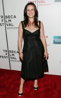 Gia Carides at the Tribeca Film Festival premiere of