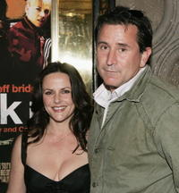 Gia Carides and Anthony LaPaglia at the screening of