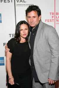Gia Carides and Anthony LaPaglia at the premiere of