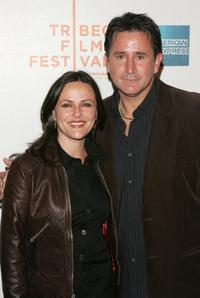 Gia Carides and Anthony LaPaglia at the Tropfest during the 5th Annual Tribeca Film Festival.