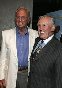 Len Cariou and Samuel Goldwyn Jr. at the premiere for