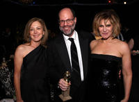 Elizabeth Cantillon, Scott Rudin and Amy Pascal at the Sony Pictures Classic 68th Annual Golden Globe Awards party.