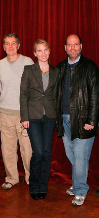 Daniel Lupi, Jennifer Fox and Scott Rudin at the 7th Annual PGA Nominees Breakfast and panel discussion in California.