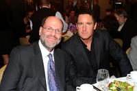Scott Rudin and composer Trent Reznor at the 36th Annual Los Angeles Film Critics Association Awards.