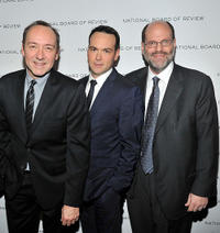 Kevin Spacey, Dana Brunetti and Scott Rudin at the 2011 National Board of Review of Motion Pictures Gala.
