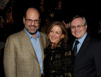 Scott Rudin, Elizabeth Cantillion and David Bishop at the Blu-ray & DVD launch party of