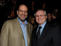 Scott Rudin and David Bishop at the Blu-ray & DVD launch party of