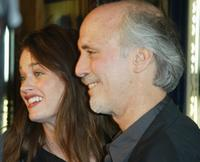 Alan Rudolph and Robin Tunney at the San Francisco Film Festival for the opening night of