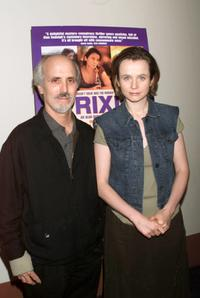 Alan Rudolph and Emily Watson at the New York premiere of