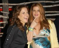 Kirstie Alley and Kelly Preston at the premiere of