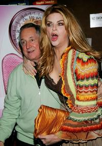 Kirstie Alley and Neil Sedaka at the premiere of