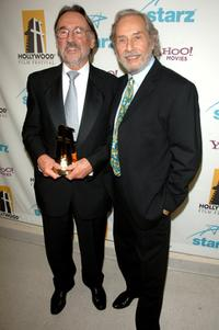 Mark Rydell and Vilmos Zsigmond at the 10th Annual Hollywood Awards.