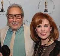 Mark Rydell and Katherine Kramer at the Academy of Motion Pictures Arts and Sciences' 30th anniversary of