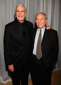 Martin Landau and Mark Rydell at the 35th Annual Vision Awards.