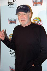 George Carlin at the screening of