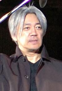 Ryuichi Sakamoto at the Kyoto leg of the Live Earth series of concerts.