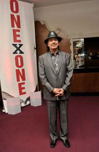 Carlos Santana at the Second Annual ONEXONE Fundraiser.