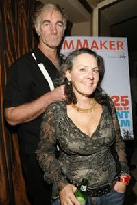 John Sayles and Maggie Renzi at the after-party for the opening night of