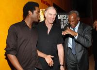 John Sayles, Gary Clark Jr and Danny Glover at the celebration in their honor from the Museum of Moving Image at The Times Center.