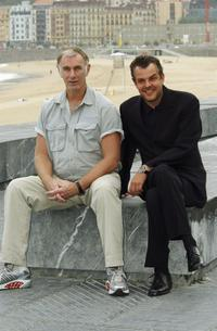 John Sayles and Danny Huston at the Photocall for their movie