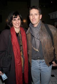 Director Evan Yionoulis and Jeff Allin at the opening night party for Lincoln Center Theater's new play
