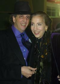 Vincent Schiavelli and Carol at the special screening of