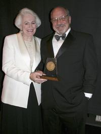 Jean Picker Firstenberg and Paul Schrader at the 33rd AFI Life Achievement Award tribute.