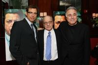 Jeff Goldblum, Paul Schrader and producer Ehud Bleiberg at the screening of