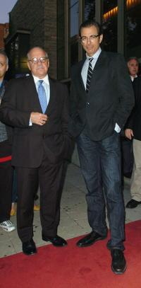 Paul Schrader and Jeff Goldblum at the 2008 Toronto International Film Festival.