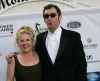 Nancy Cartwright and Tom Kenny at the Monte Carlo Night benefiting Devonshire PALS at a private residence.