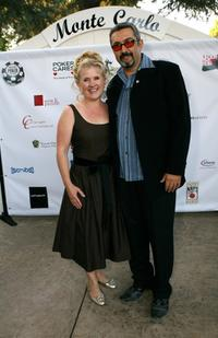 Nancy Cartwright and Jon Cassar at the Monte Carlo Night benefiting Devonshire PALS at a private residence.
