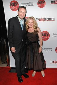 Nancy Cartwright and John Kilcullen at the Hollywood Reporter Key Art Awards.