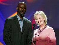 Veronica Cartwright and Djimon Hounsou at the 3rd Annual DVD Exclusive Awards.