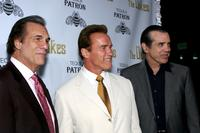 Arnold Schwarzenegger, Chaz Palminteri and Robert Davi at the Los Angeles screening of