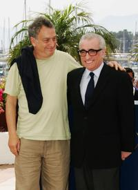 Martin Scorsese and Stephen Frears at the 60th International Cannes Film Festival.