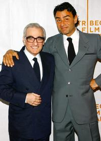 Martin Scorsese and Vincenzo Amato at the premiere of