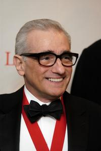 Martin Scorsese at the New York Public Library's 2007 Lions Benefit.