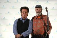 John Mellencamp and Pete Seeger at the Clearwater Benefit Concert celebrating Pete Seeger's 90th Birthday.