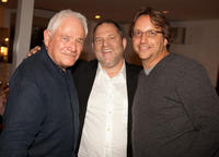 David Seidler, producer Harvey Weinstein and Jeremy Barber screening of