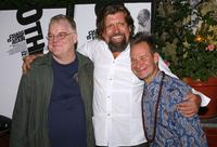 Philip Seymour Hoffman, Oscar Eustis and Peter Sellars at the Public Theater and Labyrinth Theater's production of