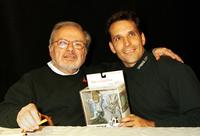 Maurice Sendak and Guest at the product signing to release the new McFarlane Toys line of