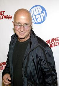 Paul Shaffer at the Popstar! Magazine's album release party for Jesse McCartney's new CD