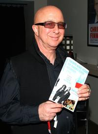 Paul Shaffer at the Tom Davis' book release party celebration.